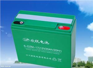 新锐动力型6-DZM-17电动车蓄电池