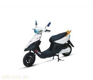欧宝马800W48V白色福禧电动摩托车