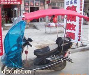 供应批量电动车车篷、两轮电动车挡风遮阳蓬