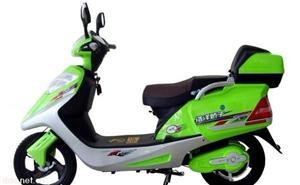 简易小红五星款电动摩托车