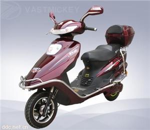 浩洋娇子五洋公主DTL08Z红色电动摩托车