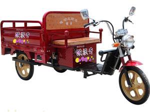 常州欧派奇小太子中置三开门电动三轮车