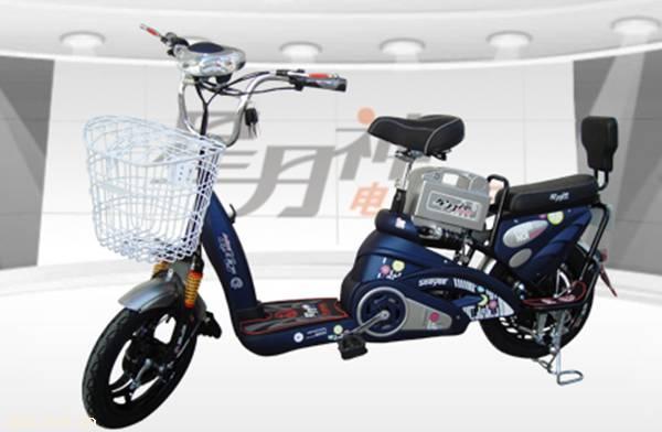 星月神彩虹便捷式电动自行车