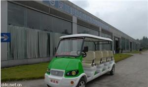 重庆伊莱维克8座绿色电动观光车