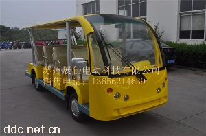 展仕新款11座电动观光车
