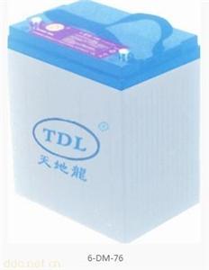 天地龙6-DM-76高尔夫球车蓄电池