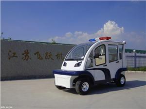 社区景区封闭式4座电动巡逻车