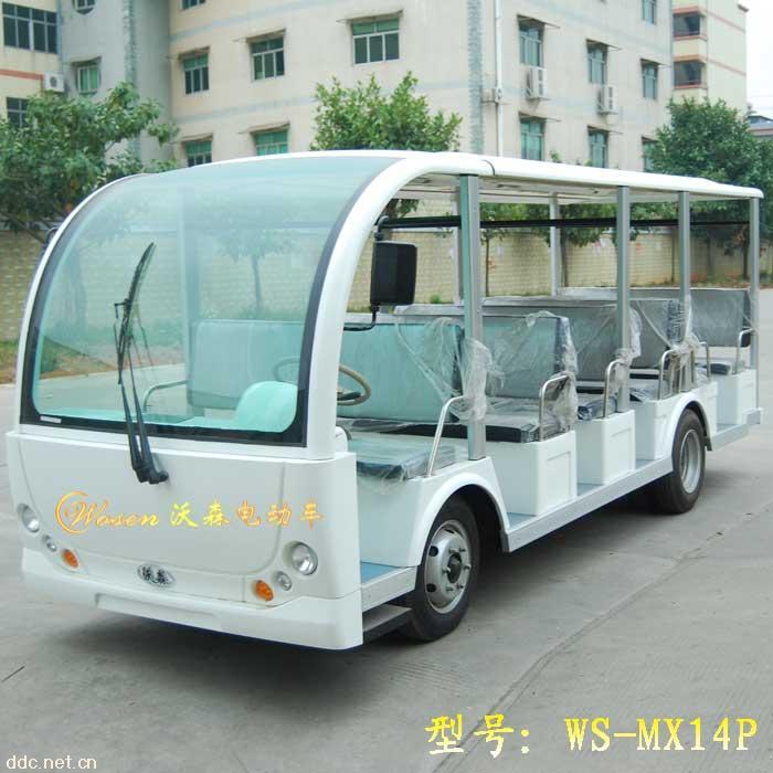 潍坊电动游览车厂|青岛小型电动游览车价格