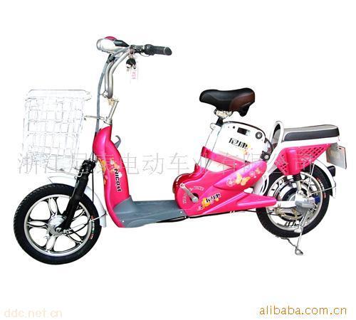 尼康小蝴蝶16寸可爱型电动自行车