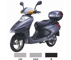 黑色款优之健电动摩托车