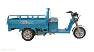 24伏两球太子载货电动三轮车(浅蓝)