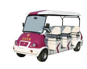 青岛格仑特供应电动观光车8人座