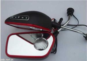 供应台州CC505电动车后视镜MP3