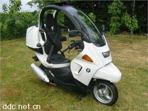 东莞华夏宝马 C1-200 踏板摩托车