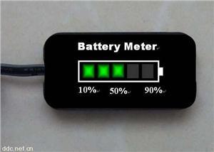 蓄电池电量指示器