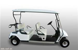 华阳4座白色电动高尔夫球车