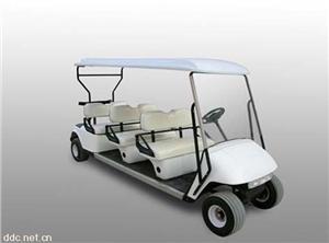 华阳白色景区6座电动高尔夫球车