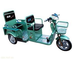 绿源载客款电动三轮车