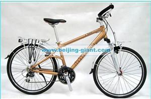 捷安特26寸城市休闲铝合金自行车