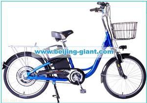 捷安特48V22寸高碳钢电动自行车