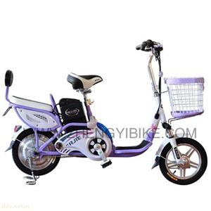 天津倍尔捷依恋紫色电动自行车