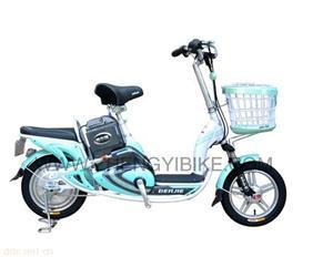 天津正意快乐公主简易电动自行车