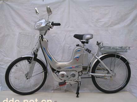 日本燃油助力自行车_广州达康助力自行车有