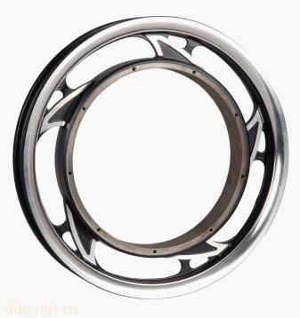 镁合金小刀电动车后轮