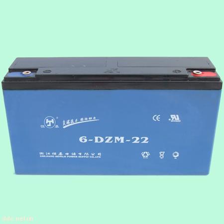 浙江恒基6-DZM-22电动车蓄电池