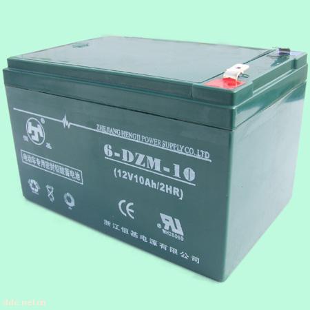 浙江恒基6-DZM-10电动车蓄电池
