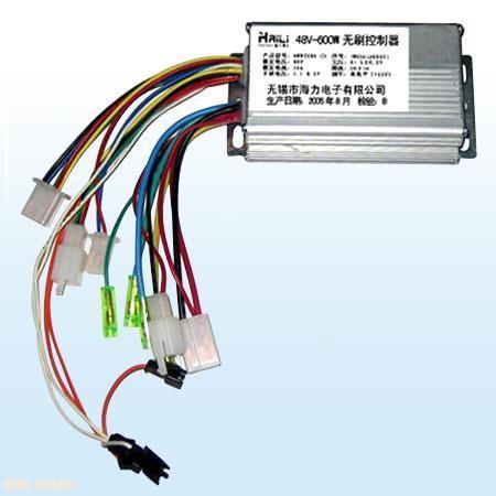 反充电智能型无刷电动车控制器; 型无刷电动车控制器接线