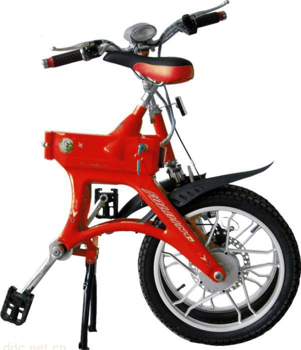 销售无链折叠电动自行车