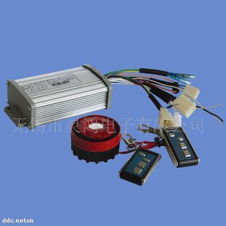 电动车控; 【供应】灵鸿六管一体遥控防盗报警控制器,电动车控制器