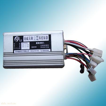 电动车无刷控制器|骊威48V500W无刷控制器参数
