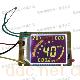 隆烨LYX1型电动车液晶仪表半成品板