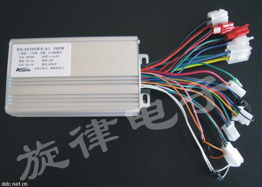 60v 500w 12管无刷电动车控制器