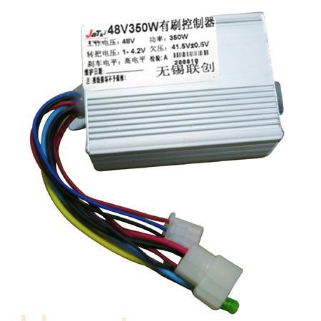 电动车控制器,电动车有刷控制器,48V350W有刷控制器