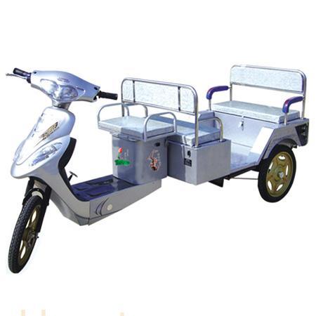 海润载龙电动三轮车绿色佳人四人休闲款_徐州海润电器