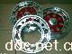 18寸蝴蝶鼓刹铝轮 电动车铝轮