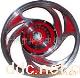 16寸18寸凤凰鼓刹铝轮 电动车铝轮