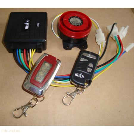 电动车锁电机防盗器电路图