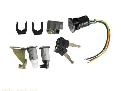 电动车锁具,大头电动车套锁