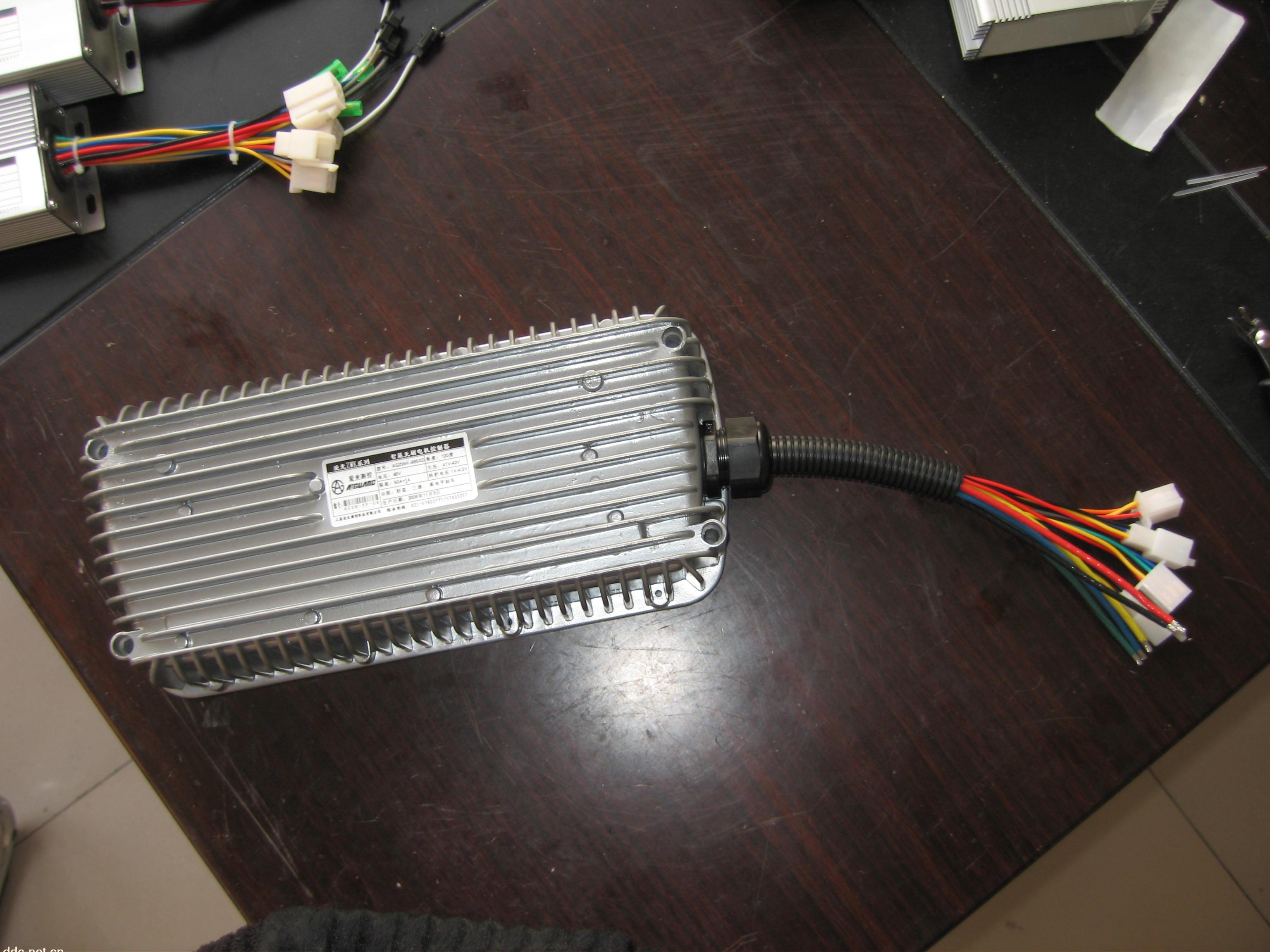 pwm型三轮控制器实物接线图解