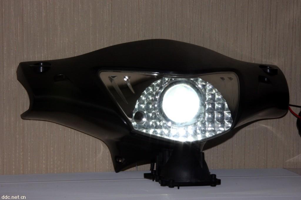 电动车大灯总成,摩托车大灯,电动车疝气灯