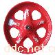 富尔沃高强度五星钢轮红色电动车钢轮