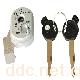 焕发HFD058-电动车磁性防盗锁头