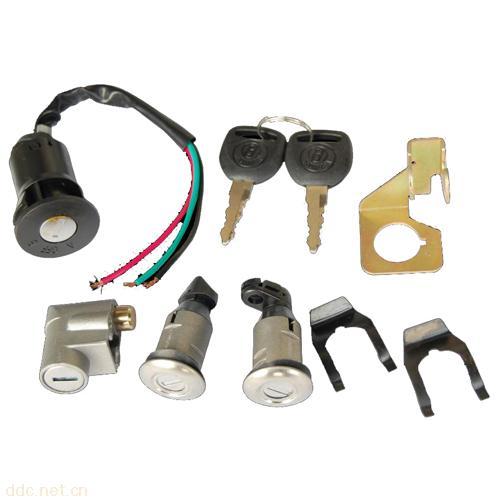 温州焕发HFD012-AB四锁电动车锁具
