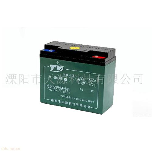 """""""天源之星""""6DZM-12ah/14ah/17ah/20电动车蓄电池"""