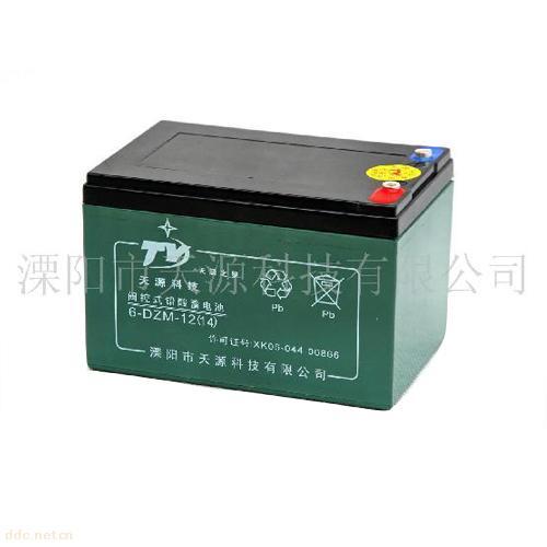 """""""天源之星""""6-DZM-14电动车蓄电池"""