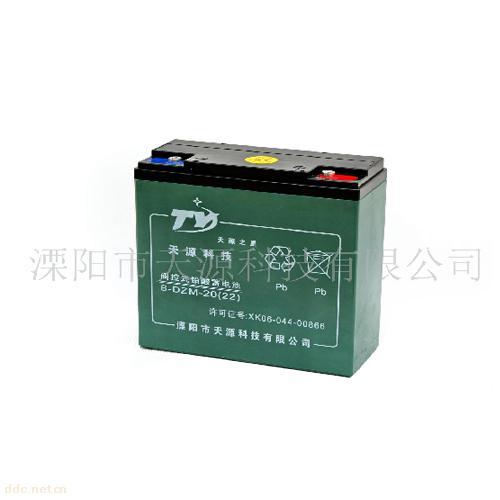 """""""天源之星""""6-DZM-22电动车蓄电池"""